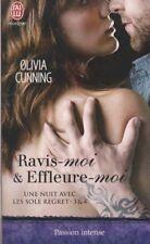 UNE NUIT AVEC LES SOLE REGRET tomes 3 et 4 Olivia Cunning roman Erotique sexy