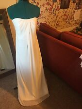 Galina Wedding Dress David's Bridal Size 10 Consignment Price $300* Pre Owned