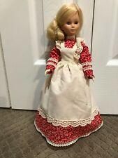 "Beautiful Vintage Mattel 15"" tall Doll - Blonde Hair - Blue Eyes 1977"