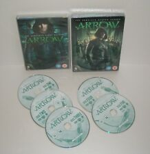 DC Comics-ARROW season 1 & 2 (Season 2 Sealed) 10 discs in total
