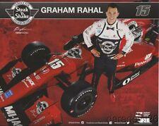 2017 Graham Rahal Steak 'N Shake Honda Dallara Indy Car postcard