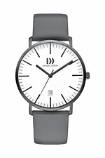 DANISH DESIGN MEN'S WATCH 3314598 Date Leather Wrist Band
