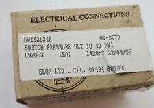 BAILEY & MACKEY LTD 142057 SWIT21346 PRESSURE SWITCH TYPE 14 (R4S3.4B2)