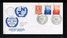 [NL289_11] 1970 - Netherlands ICJ stamps on cover 25 years United Nations Organi