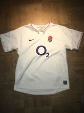 Nike England Rugby Jersey Youth Large Rugbeia Floreat Ubique