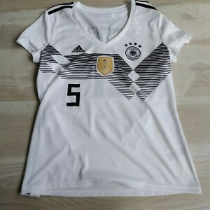 Hummels Germany Home football shirt 2018 - 2019 Adidas BQ8396 Woman Size XL UA1
