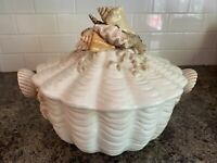 Fitz & Floyd Seascape Tureen with Lid (Retired Pattern)