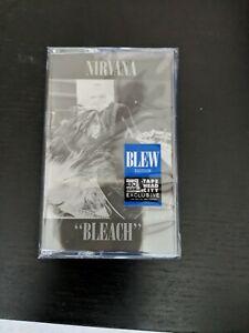 NIRVANA Bleach Blew Edition - brand new cassette tape - FREE SHIPPING