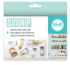 American Crafts 662589 6 Piece We R Memory Keepers Snap Storage Washi Tape