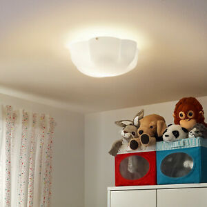 IKEA YLLESTA KIDS CEILING LIGHT LAMP CHILDRENS CLOUD FREE POSTAGE
