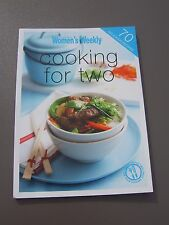 COOKING FOR TWO 70 Delicious Recipes AWW Cookbook 139mmx189mm 80pg vgc