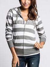NWT Women Sweatshier Hoodie G By Guess FINN ZIP UP HOODIE - XS