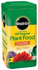 5 lb Miracle Gro Grow Houseplant Flowers Vegetable Garden All Purpose Plant Food