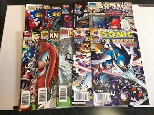 Archie Comics Sonic The Hedgehog Comic Book Lot 4