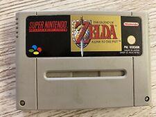 SNES Zelda A Link to the Past - Super Nintendo PAL Version