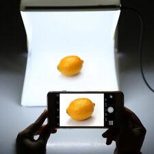 """9"""" Light Room Photo Studio Photography Lighting Tent Kit Backdrop Cube Mini Box"""
