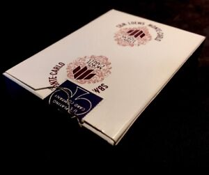 1975 Lowes Monte-Carlo High Grade Uncanceled Vintage Playing Cards Casino Deck