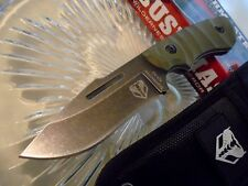 "Bush Master Conqueror Lil Giant Combat Hunter Dagger Knife Full Tang G10 3197 7"""