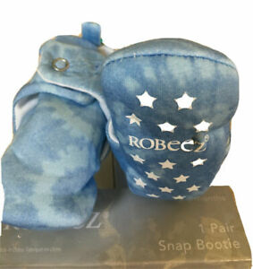 New Robeez Baby Snap Booties: Solids, Camo & Animal Designs; Sizes 3-6M or 6-12M