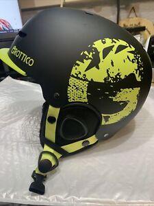 Grottico Adjustable Ski-Snow Helmet Size M 55-58cm