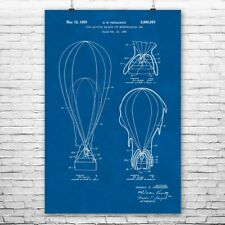 Weather Balloon Poster Print Meteorologist Gift Weather Station Art Science Art