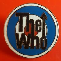The Who Pin Enamel Music Famous Rock Band Metal Brooch Badge Lapel