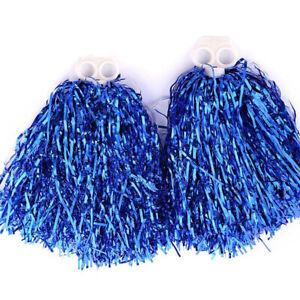Club Supply Pompoms Cheer Dance Cheering Cheerleading Pom Poms Streamer Pompoms
