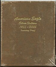 Dansco Album 1986 - 2006 American Eagle Silver Dollar Set - Folder 8181 - Sealed