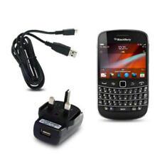 Caricabatterie e dock nero con micro USB per cellulari e palmari BlackBerry