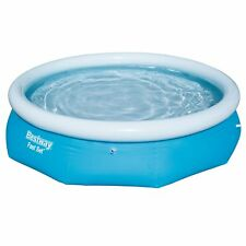 "Fast Set Up Large 10ft x 30"" Swimming Pool Garden Family Paddling Pool 57266"