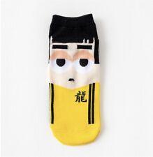 Cartoon Bruce Lee Ankle Socks Size 35-42 (UK Seller, Fast&Free Postage)