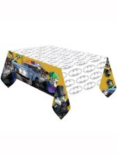 Lego Batman Birthday Party Range - Tableware Balloons & Decorations Amscan 1c Plastic Tablecover 120 X 180 Cm