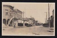 Canada 1930s STEPHEN STREET MORDEN Manitoba Real Photo Postcard RPPC Unused