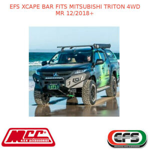 EFS XCAPE BAR FITS MITSUBISHI TRITON 4WD MR 12/2018+