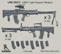 Live Resin 1:35 L80A1 Light Support Weapon - Resin #LRE35213