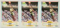1990-91 FLEER BASKETBALL Shawn Kemp 3x Rookie Card RC Lot NM #178 Supersonics