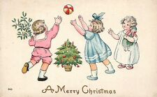 # M2397    CHRISTMAS    POSTCARD,  CHILDREN