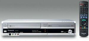 Panasonic DMR-EZ47V Silver DVD & VHS Recorder Combo - Freeview - HDMI