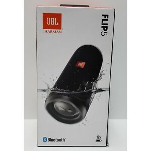 JBL Flip 5 Waterproof Portable Rechargeable Bluetooth Speaker (New)