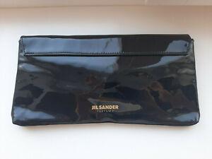 Jil Sander cosmetic parfum bag clutch 11 x 5