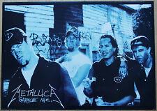Poster Metallica Nr. 6 GARAGE INC.  Format 60 x 84 cm Original von 1999
