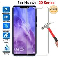 2Pcs Tempered Glass For Huawei MATE 20 Pro Lite Screen Protector Premium Film 9H