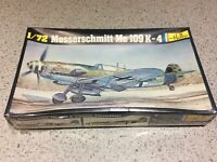 Vintage Heller 1/72 MESSERSCHMITT ME109K-4, Model Plane Kit No.229, NEW & SEALED
