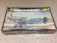 Vintage Heller 1/72 MESSERSCHMITT ME109K-4, Model Plane Kit No.229, NEW & SEALED
