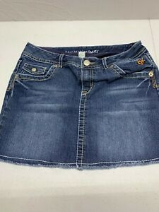 Girls I LOVE Justice Jean Shorts Size 18R NICE  SKIRT JEANS