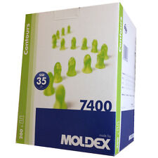 Moldex Contours 7400 Earplugs Standard Size-SNR:35db 200Pairs - Ear Protection