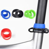 MTB Road Bike Bicycle Seat Post Silicone Rubber Ring Waterproof Dust Cover Grip