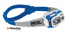 Petzl Swift RL Blue 900 Lumen Intelligent Headlamp Rechargeable Head Torche