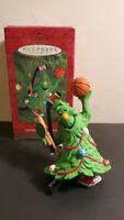 Hallmark Keepsake Ornament- Tree Guy sport baseball hockey basketball vintage