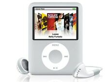 Apple iPod Nano 3rd Gen 8GB Silver Model A1236 - Genuine Charger & 30pin Cable